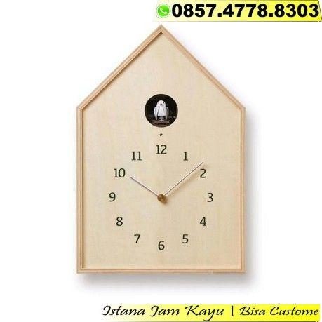 Jam Dinding Kayu Handmade 2d673d20c7