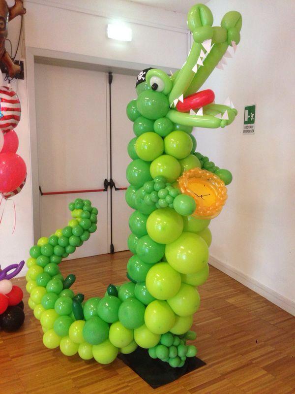 Il coccodrillo di Peter Pan Decoraciion conglobos Pinterest