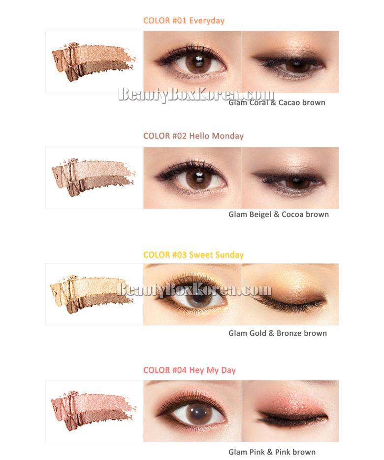 Beauty Box Korea 16 Brand Eye Magazine 2 5g Best Price And Fast