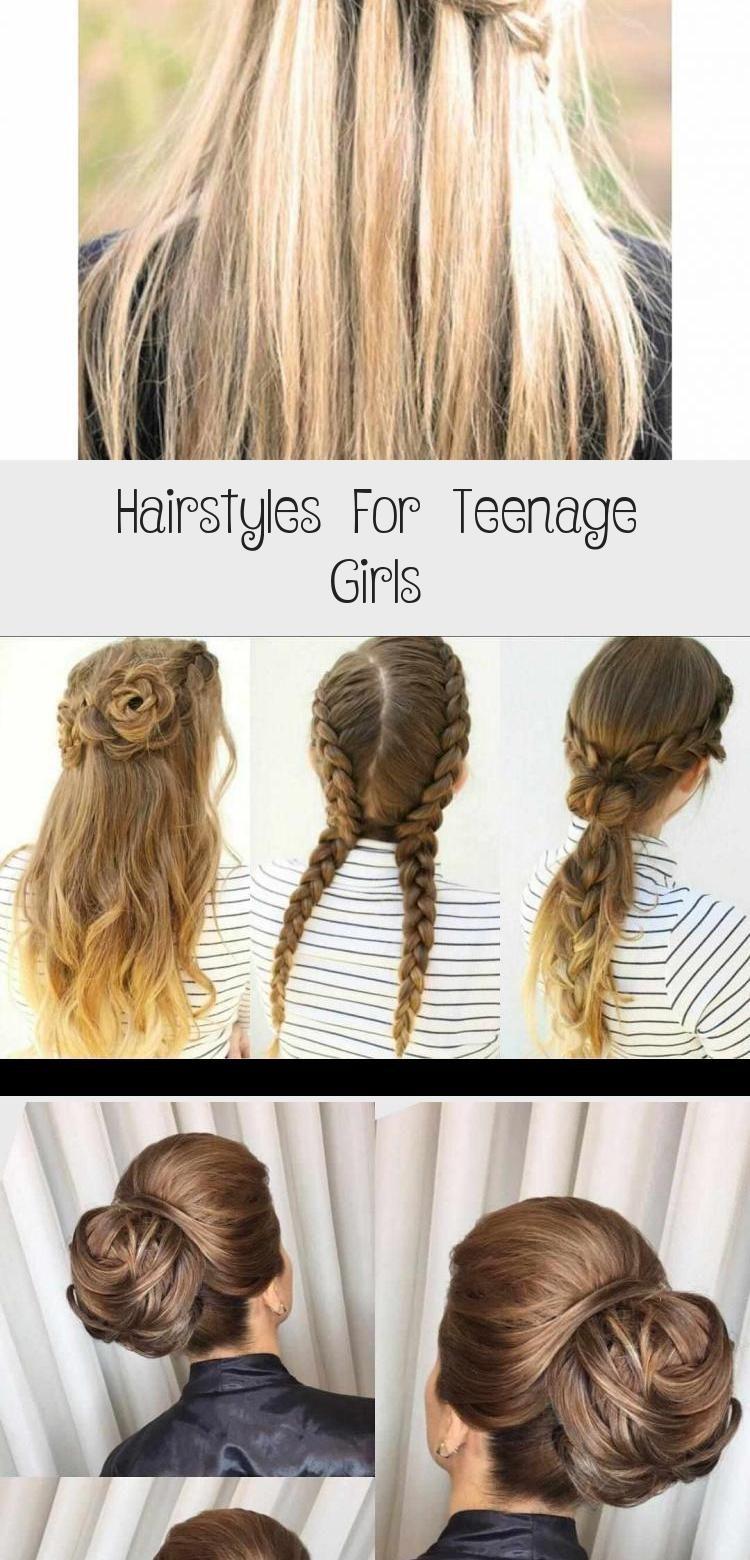 Www Hairstlyless Kapsels Voor Tienermeisjes Haarstijlen In 2020 Hair Styles Teenage Girl Hairstyles Girl Hairstyles