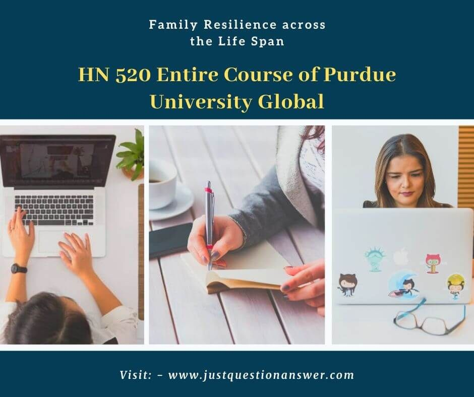 Hn 520 Entire Course Of Purdue University Global Purdue University Purdue University