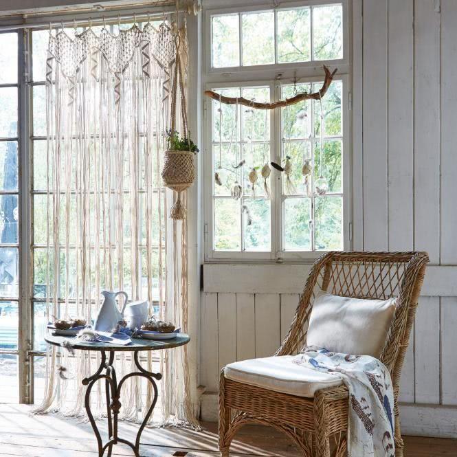 LOBERON Gardine Dounia - Werbung #Wohnen #Wohnzimmer #GArdine