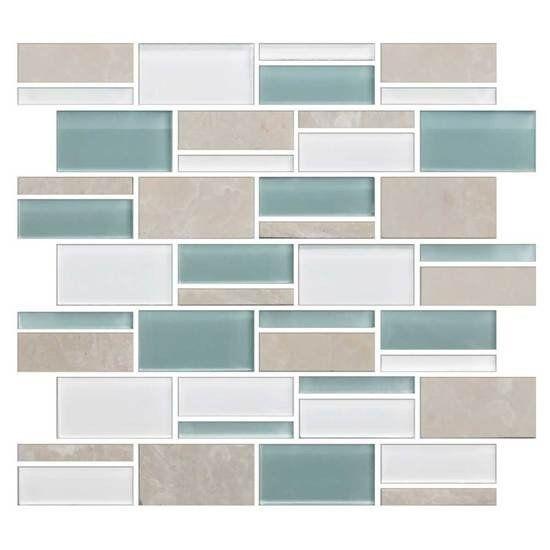 American Olean Color Eal Pacific Coast 3 X Random Mosaic Blends Fast Floors