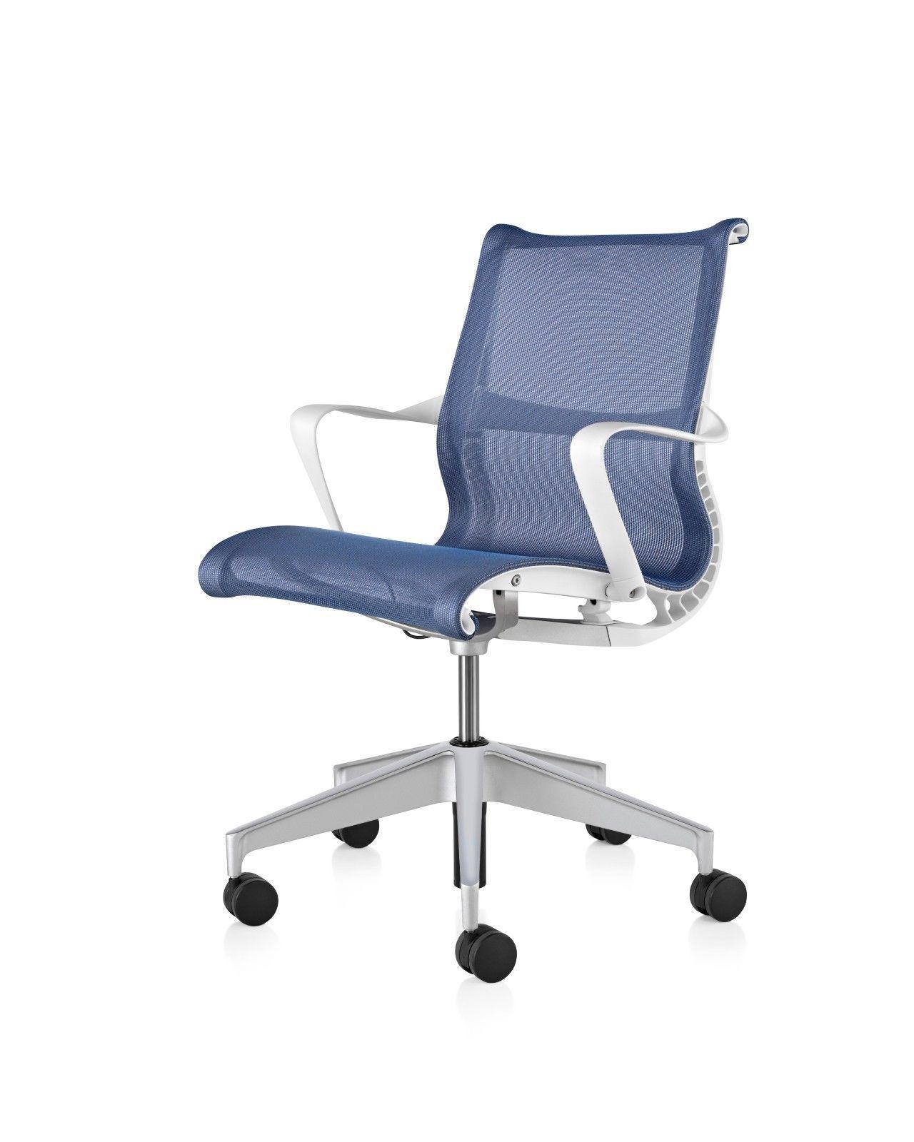 Herman Miller Setu Chair in Berry Blue