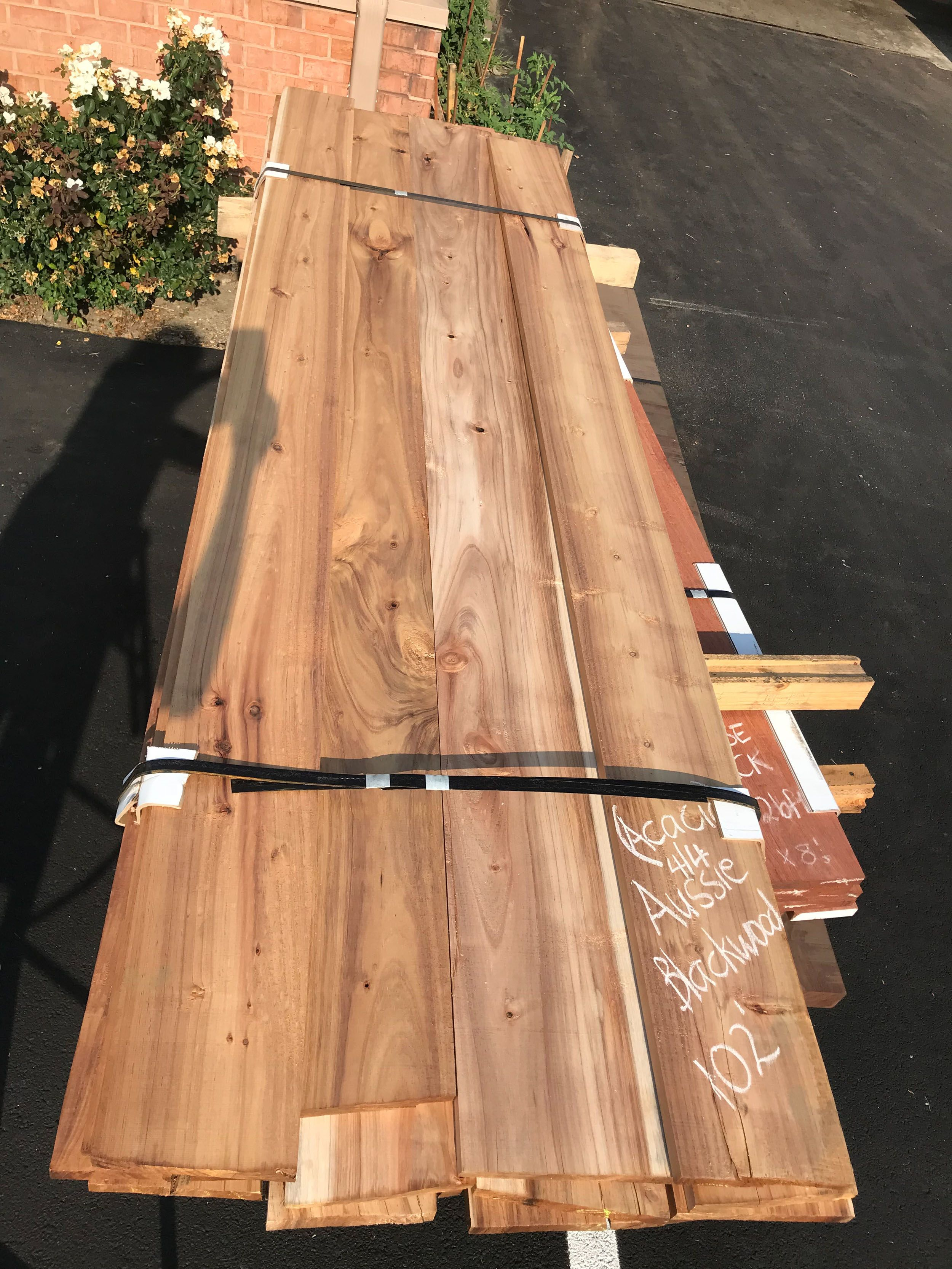 Best 4 4 Australian Blackwood Acacia Packs – 102Bft Live Edge 400 x 300