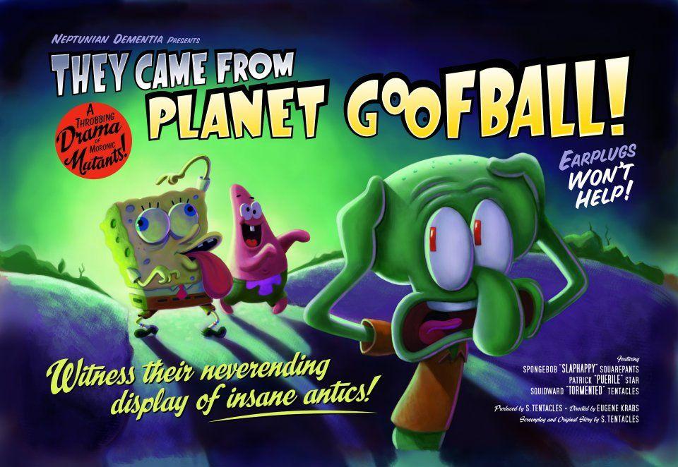 spongebob presents they came from planet goofball halloween edition - Spongebob Halloween Game