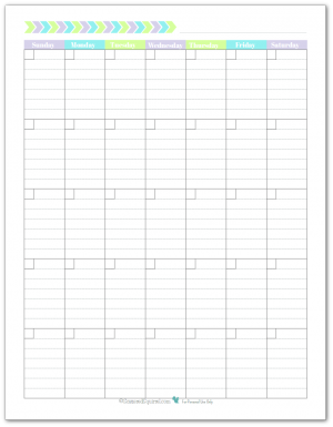 graphic about Blank Planner titled Specific Planner - No cost Printables 《 Printables