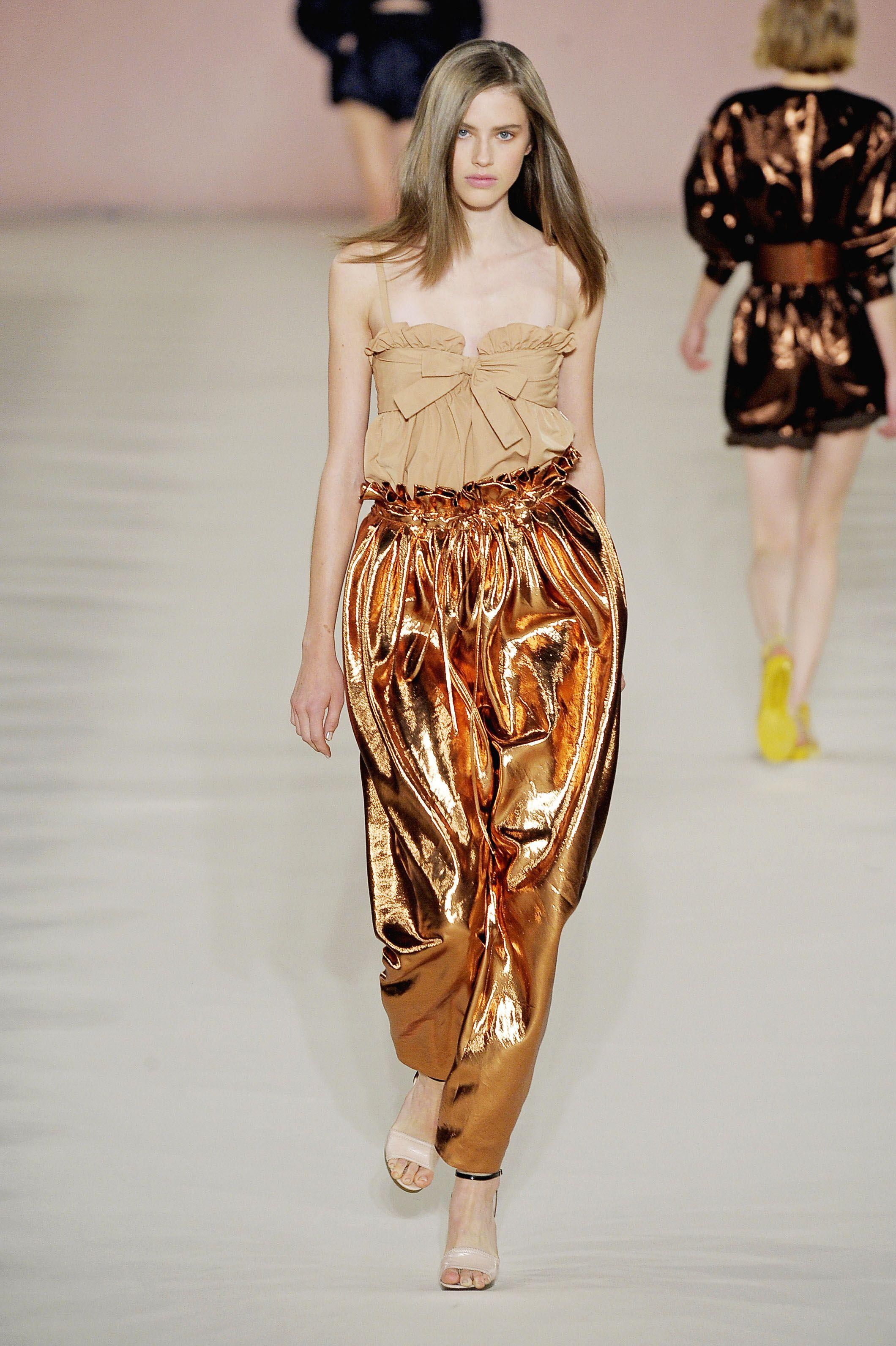 Chloe S/S 09: Wide-leg trouser (Minoan skirt type)