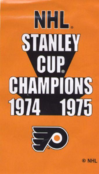 Philadelphia Flyers Huge 3\u0027 x 5\u0027 Licensed NHL Stanley Cup Banner
