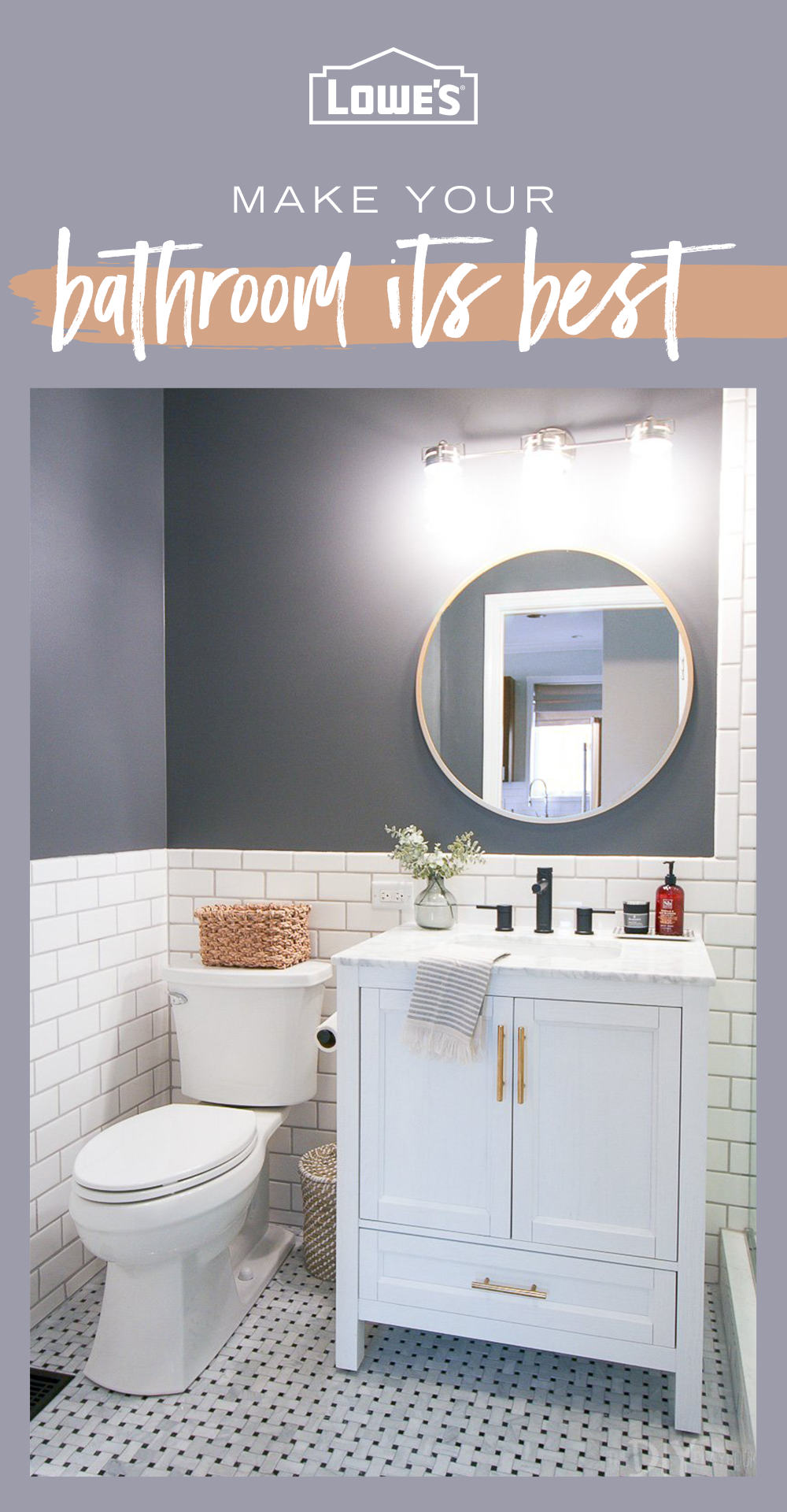 Looking to beautify your bathroom Lowes has everything you need to upgrade and elevate Tap the Pin to learn more
