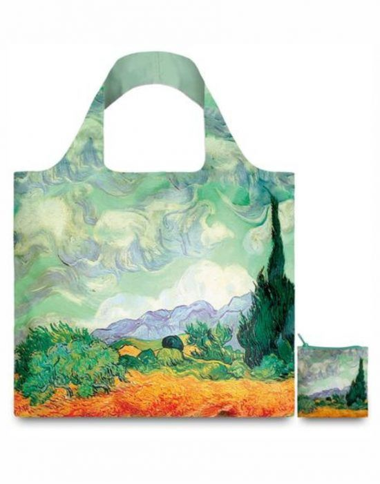 Bolsas A Collection Reusable Loqi Gogh Museum Van Wheat Bolsa qYwRv8q