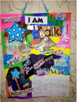 4th Grade Frolics: I am collage about self