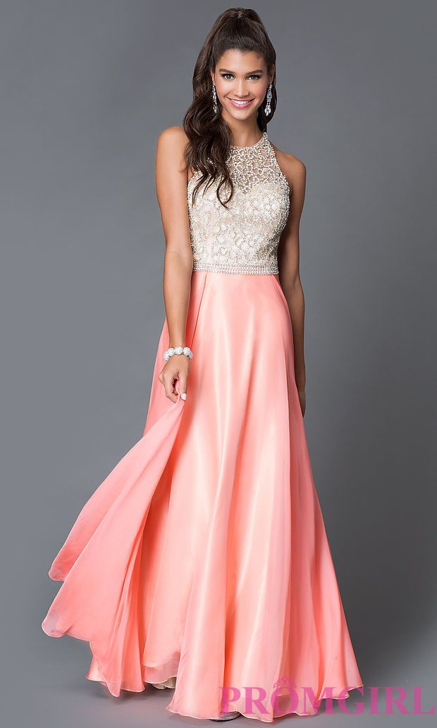 Floor Length Sleeveless Prom Dress 1725 by Dave and Johnny ...