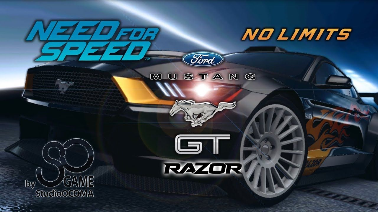 New Car Ford Mustang Gt Razor Need For Speed No Limits
