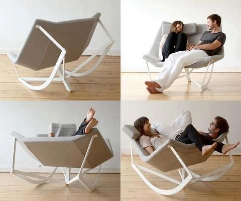 The Comfortable Rocking Chair By Markus Krauss May Lack Originality In The Name But I Think The Design Is Quite Furniture File Furniture Space Saving Table