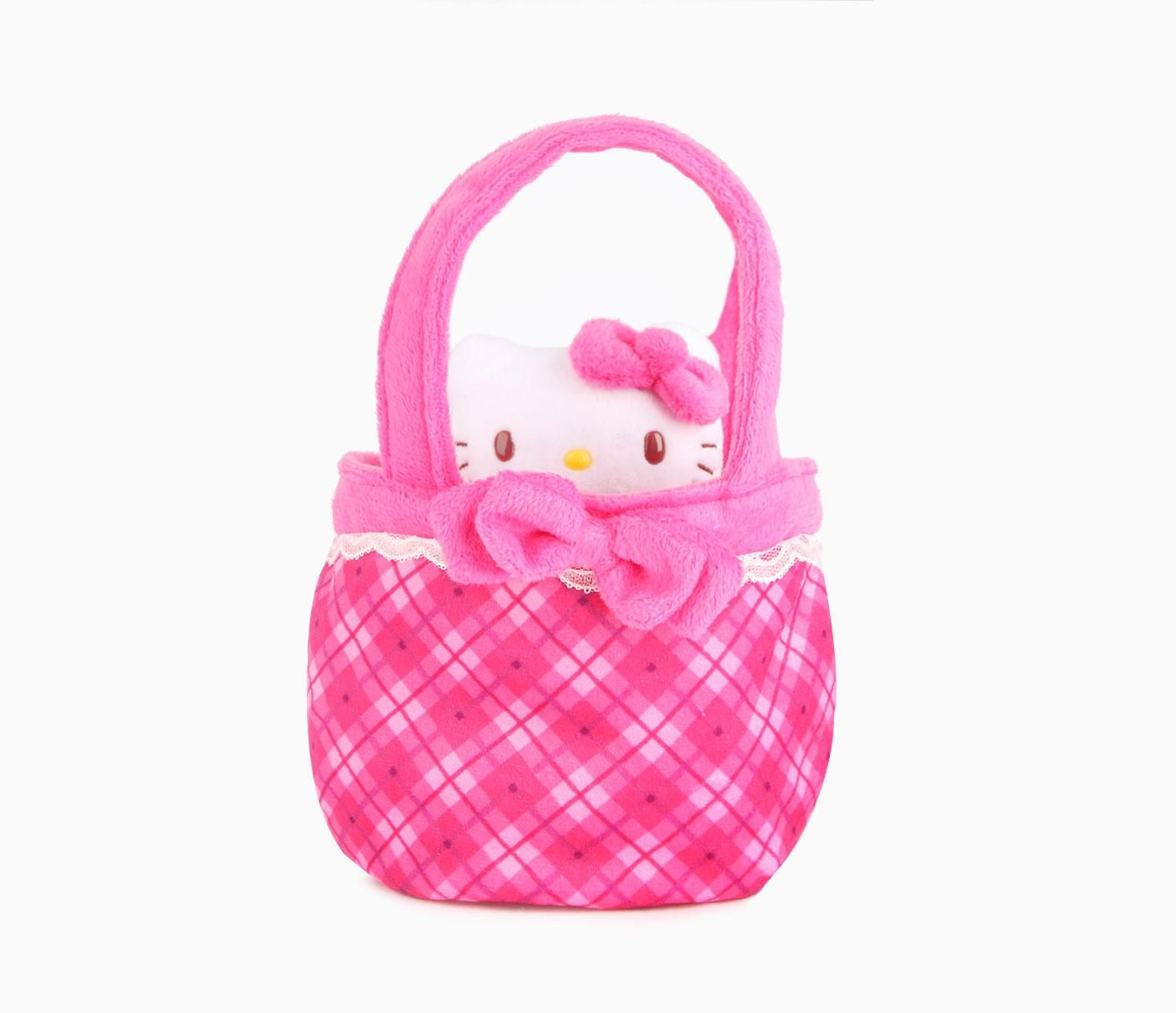 Hello kitty plush in bag sunday