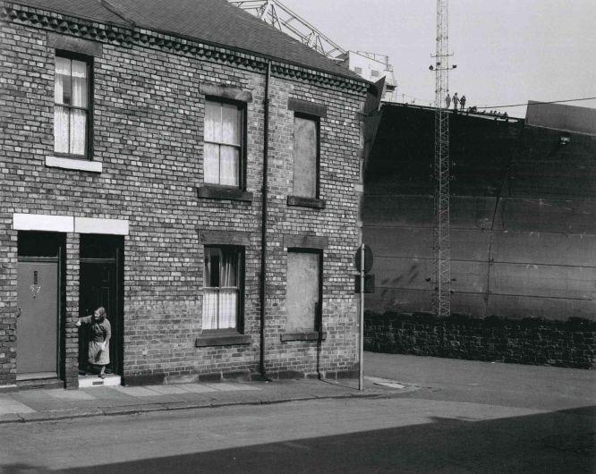 Chris Killip y la cara gris de la era Thatcher – Terraced Housing, Wallsend, Tyneside.