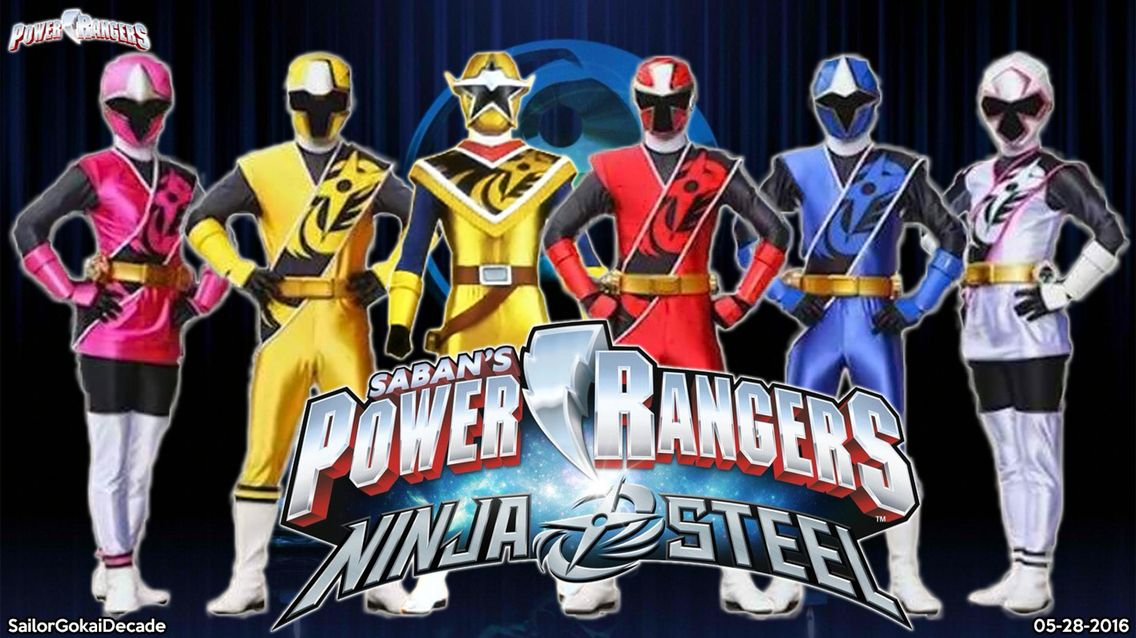 Power Rangers Ninja Steel Anniversaire Power Ranger Heros Fete