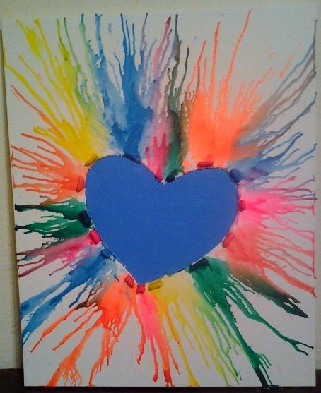 melted crayon art projects - Yahoo Image Search Results