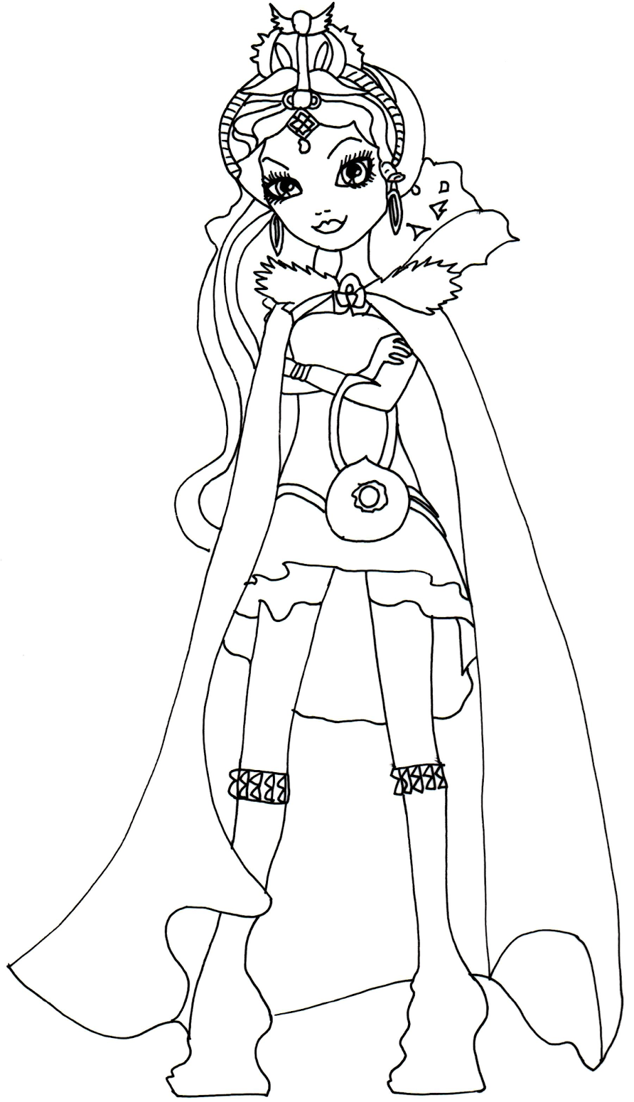Raven Queen Legacy Day Coloring Page Png 920 1600 Cartoon Coloring Pages Mermaid Coloring Pages Cute Coloring Pages