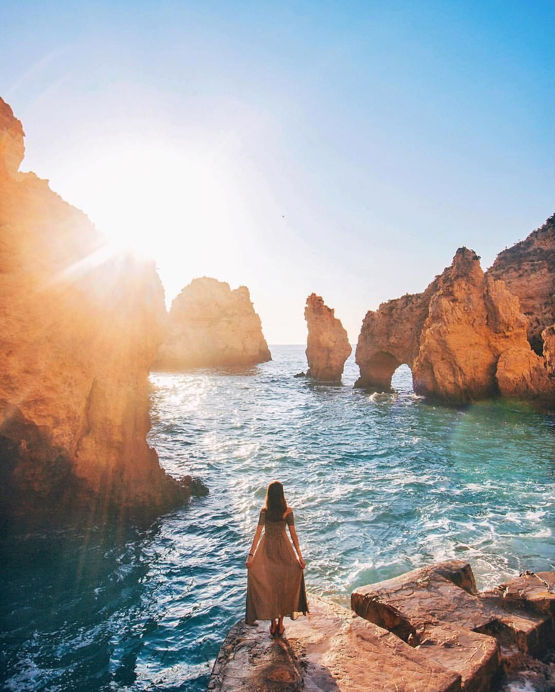 Farol Ponta Da Piedade, Portugal. Photo By: @taramilktea