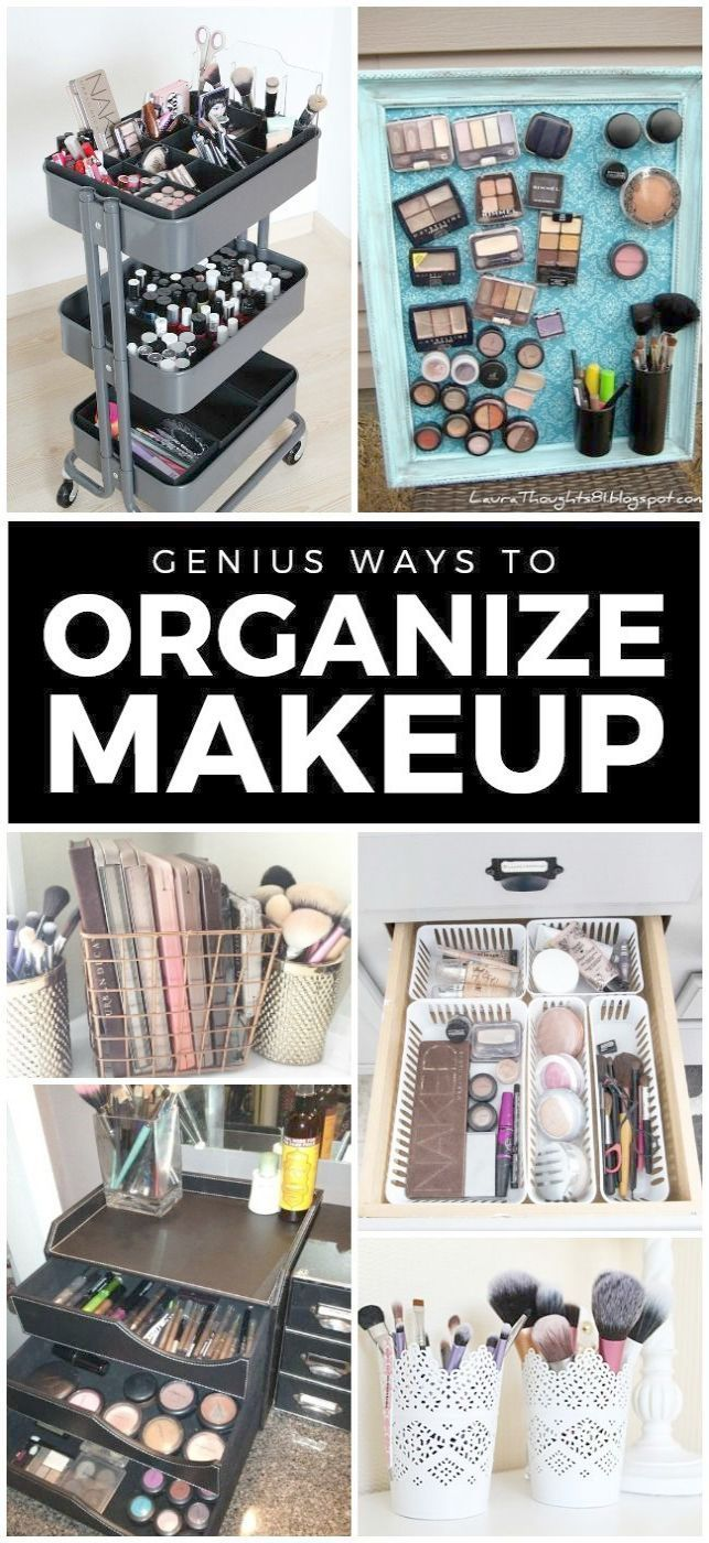Brilliant 10 Drawer Makeup Storage Cart D Makeup