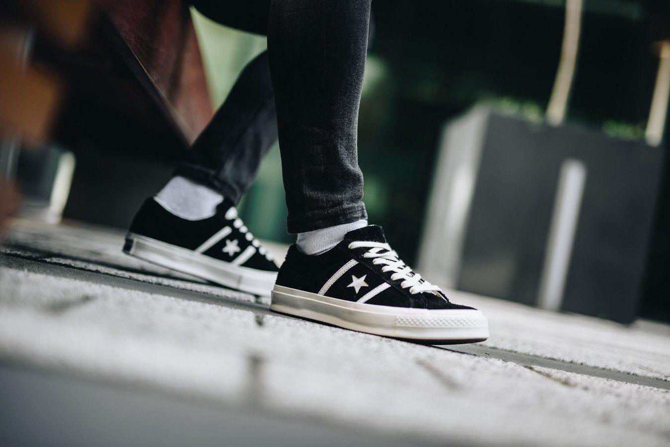 Elegant Converse One Star Pro Cf Wildleder Mid Schuhe Herren