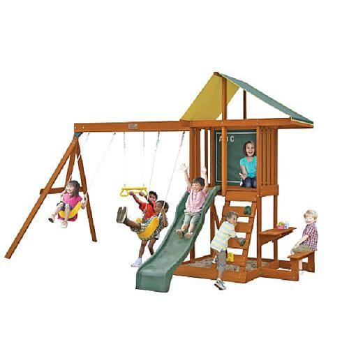 "Springfield II Wood Gymset - Big Backyard - Toys ""R"" Us ..."