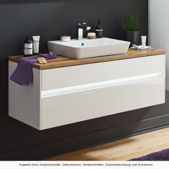 Puris Unique Waschtisch Set 120 Cm Mit Keramik Aufsatz Waschtisch Waschtisch Holz Unterschrank Unterschrank Waschtisch