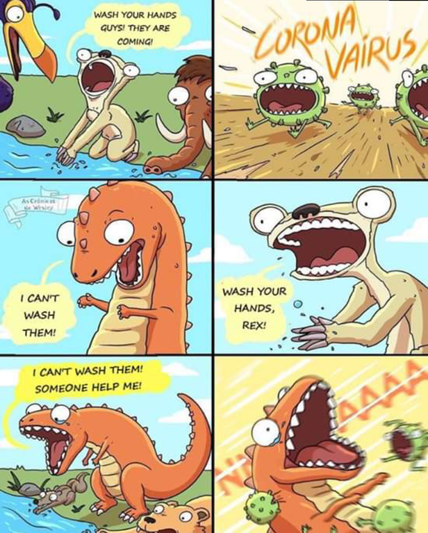 Well now we know how the dinosaurs went extinct