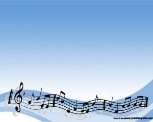 Sheet Music Powerpoint Template Ppt Template Powerpoint Templ