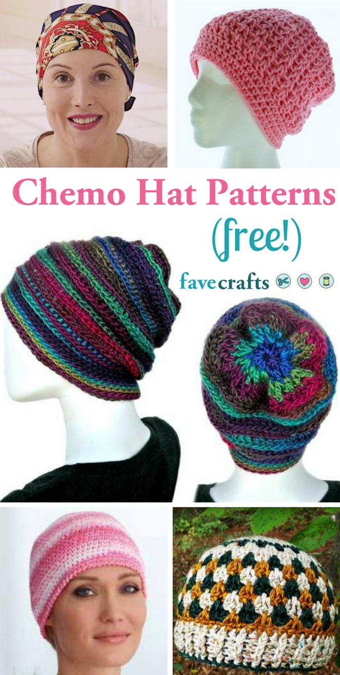 7 Free Chemo Hat Patterns   Hats for cancer patients ...