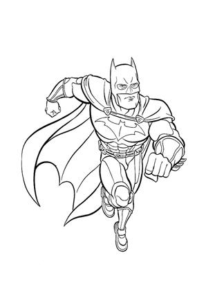 Ausmalbild Batman Ausmalbilder Ausmalen Batman