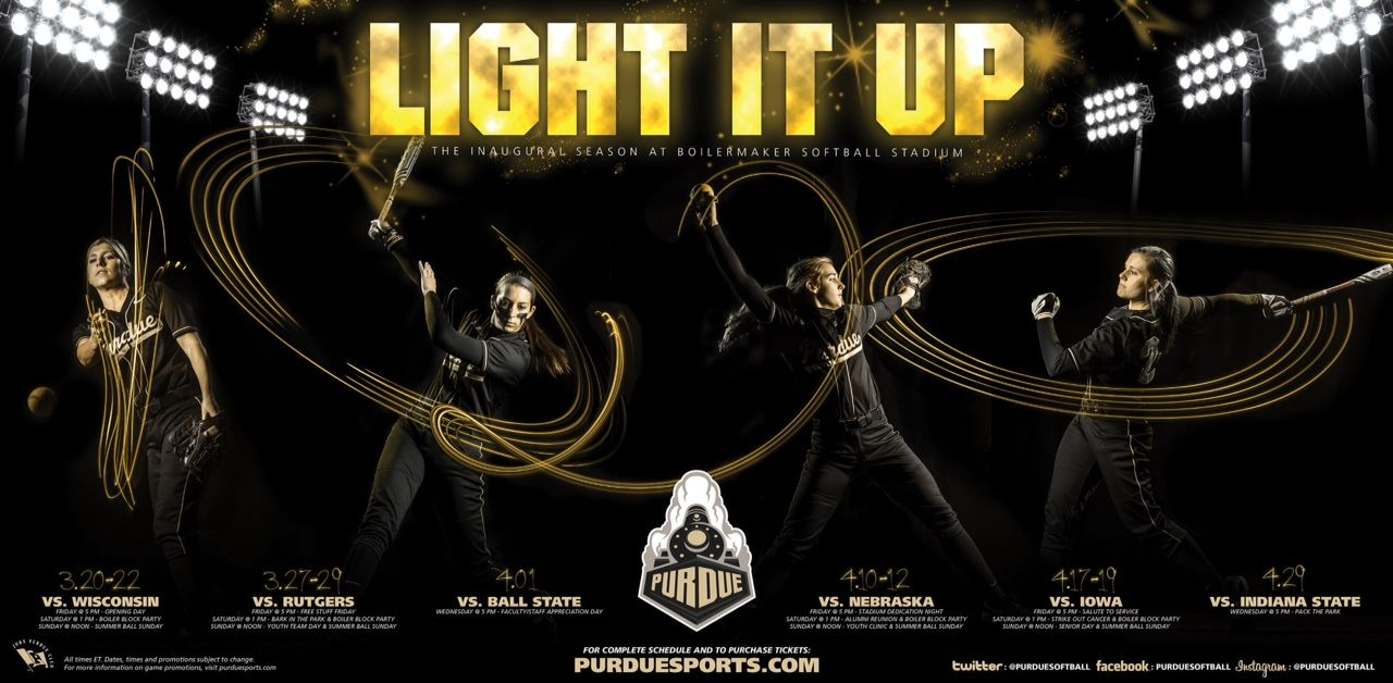 purdue-softball 1,280×628 pixels | softball posters | pinterest, Presentation templates