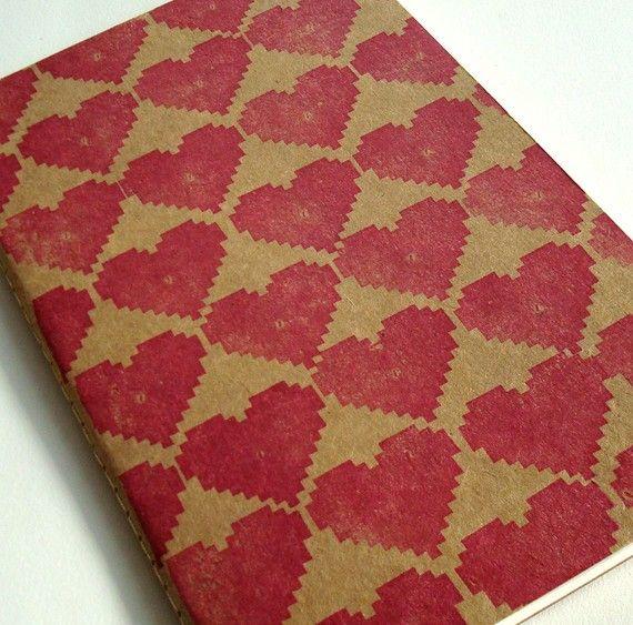 i 8 bit heart you large journal moleskine sketch geek love notebook valentine s day