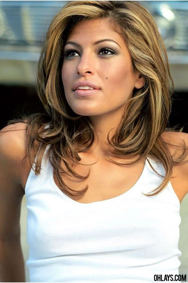 eva mendes hair hair trends pinterest haar. Black Bedroom Furniture Sets. Home Design Ideas