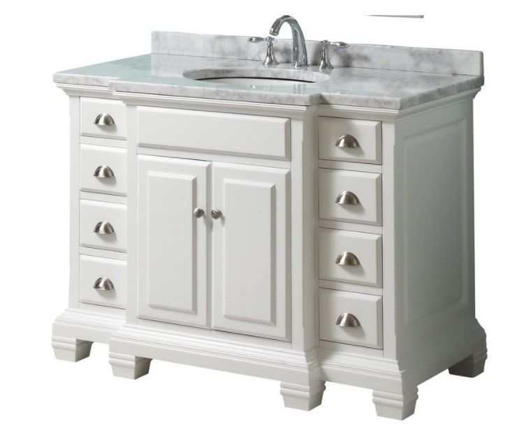 Unique Lowes 42 Vanity