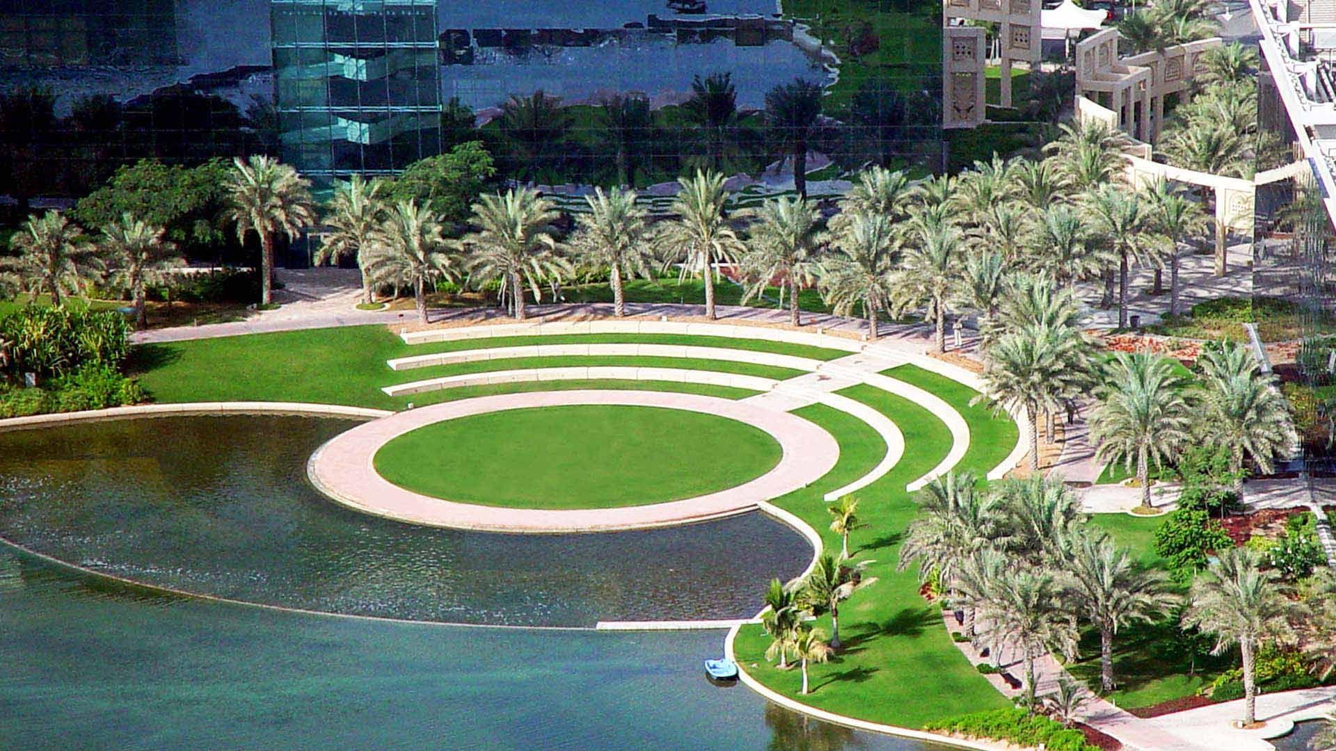 Dubai United Arab Emirates Landscape Design Urban Design Landscape Design Plans