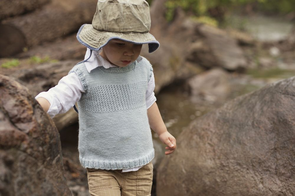f7a9892df Children s knit vest PDF pattern download -  6. Available in sizes 6 ...
