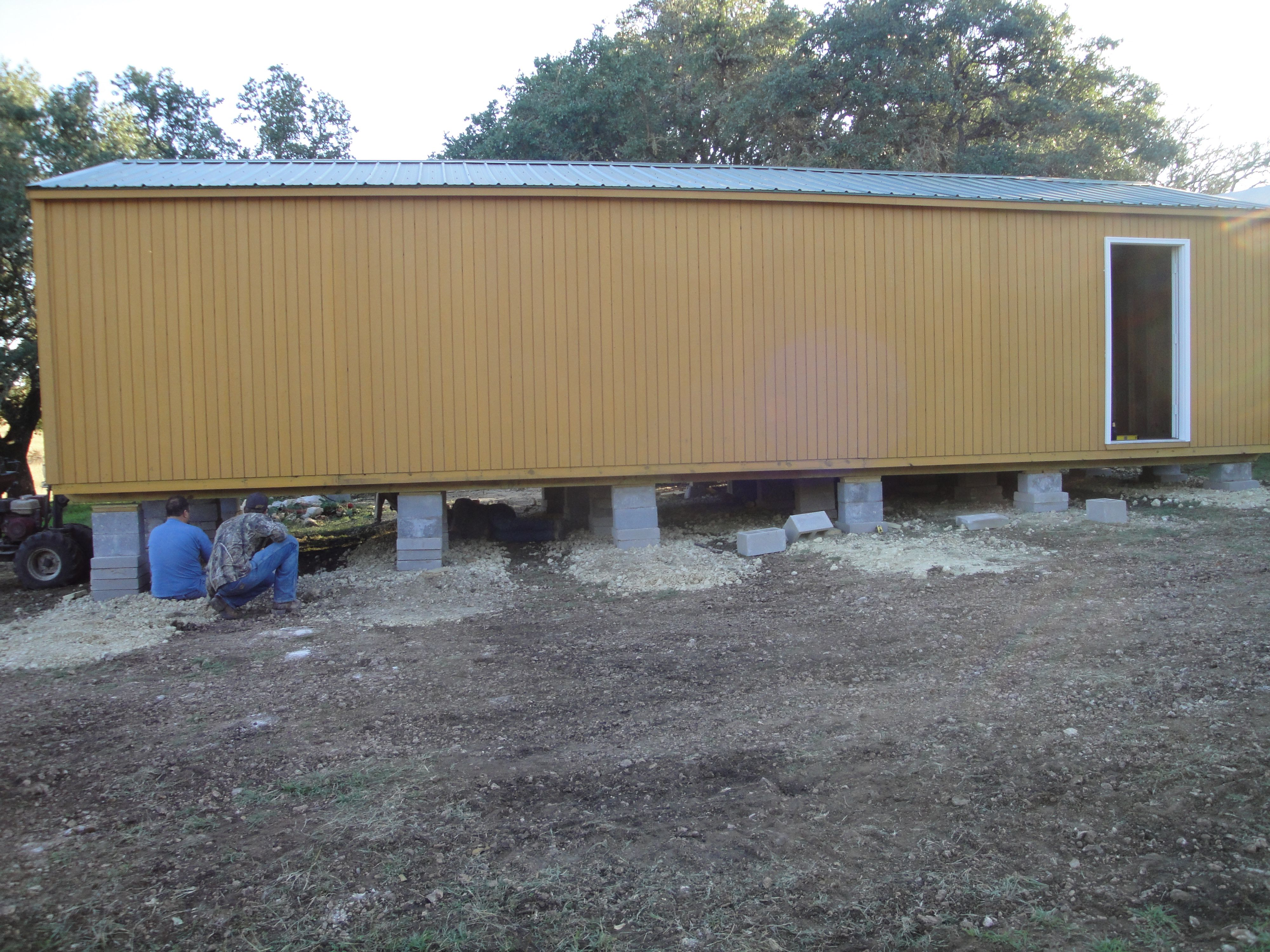 set up and delivery are free at graceland portable buildings