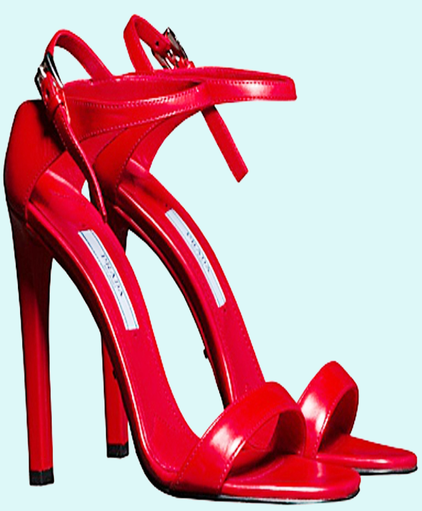Casual shoes women, Red sandals, Heels
