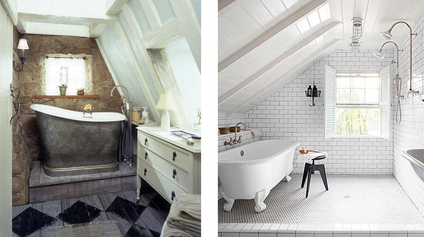 Stunning Chambre Salle De Bain Combles Images - Design Trends 2017 ...