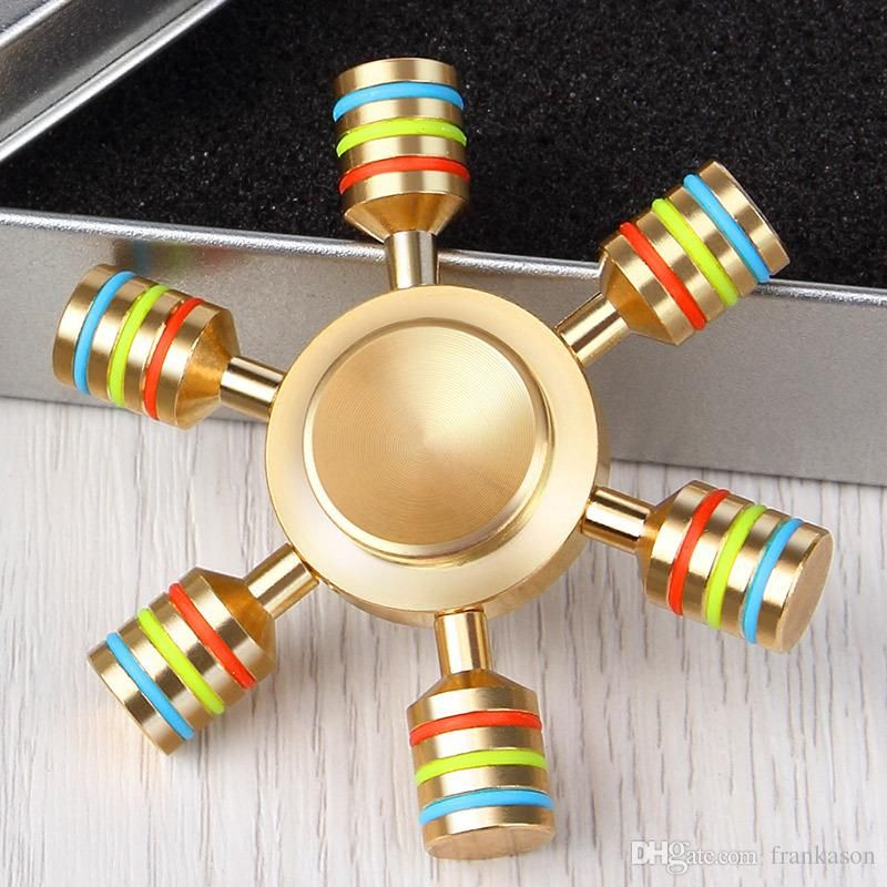 Cheap Brass Hexagonal Fid Spinner Hexa Spinner Detachable
