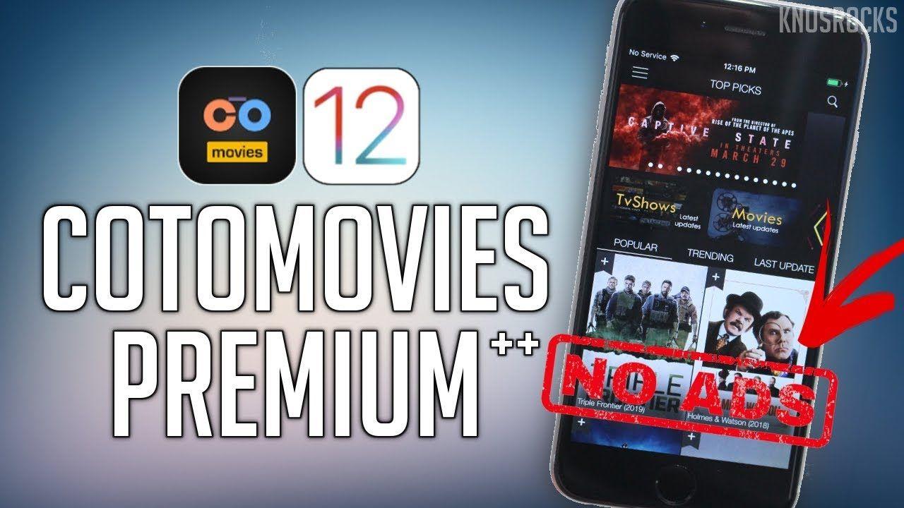Get CotoMovies Premium (++) iOS 12 - 12 1 2 Watch Free Movies & TV