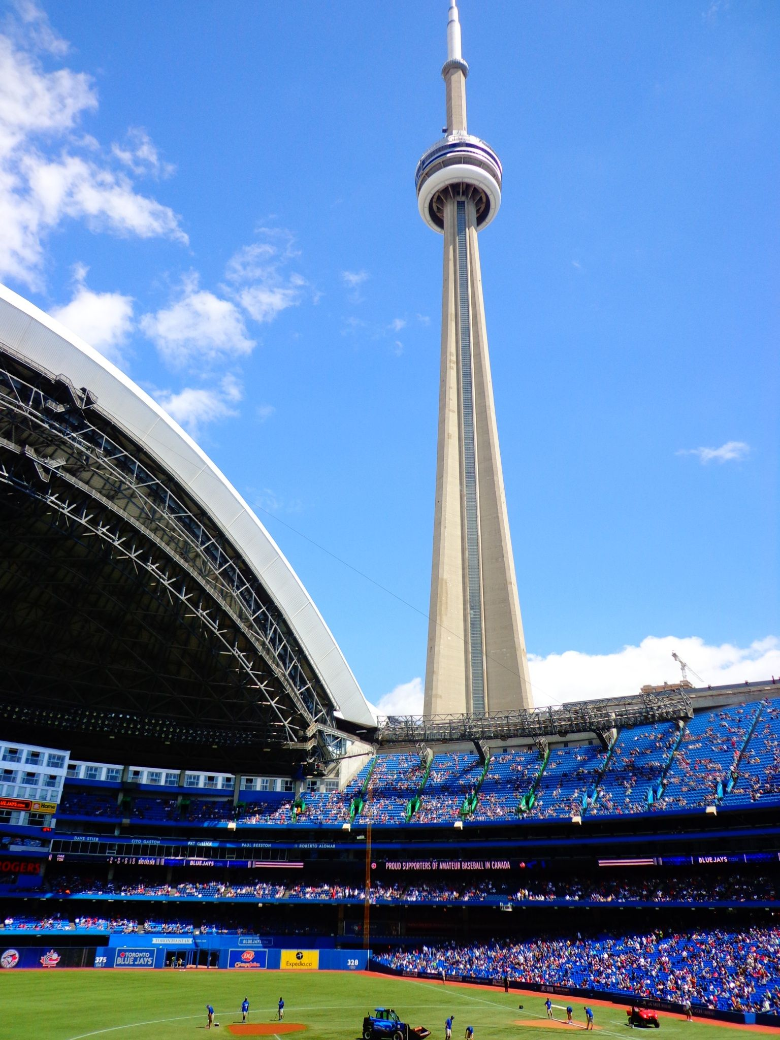 Toronto Rogers Centre Cn Tower Travel Diary Pinterest Rogers Centre Cn Tower And Centre