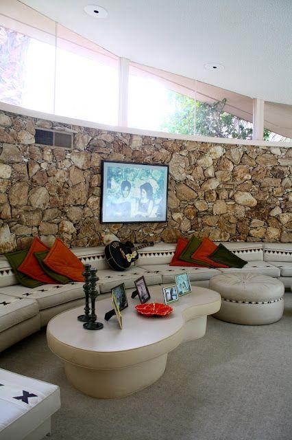 Elvis' mid century modern home in Palm Springs California