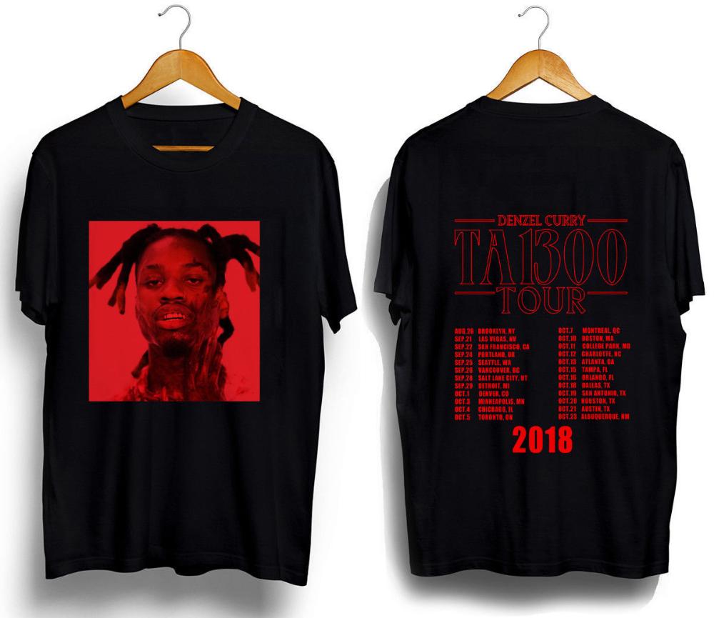 DENZEL CURRY TABOO TOUR NORTH AMERICA 2018 T SHIRT S-XXXL