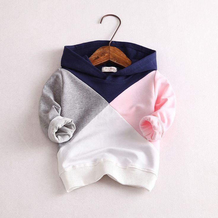 Photo of Children's cotton top coat girl boy children coat pullover h…