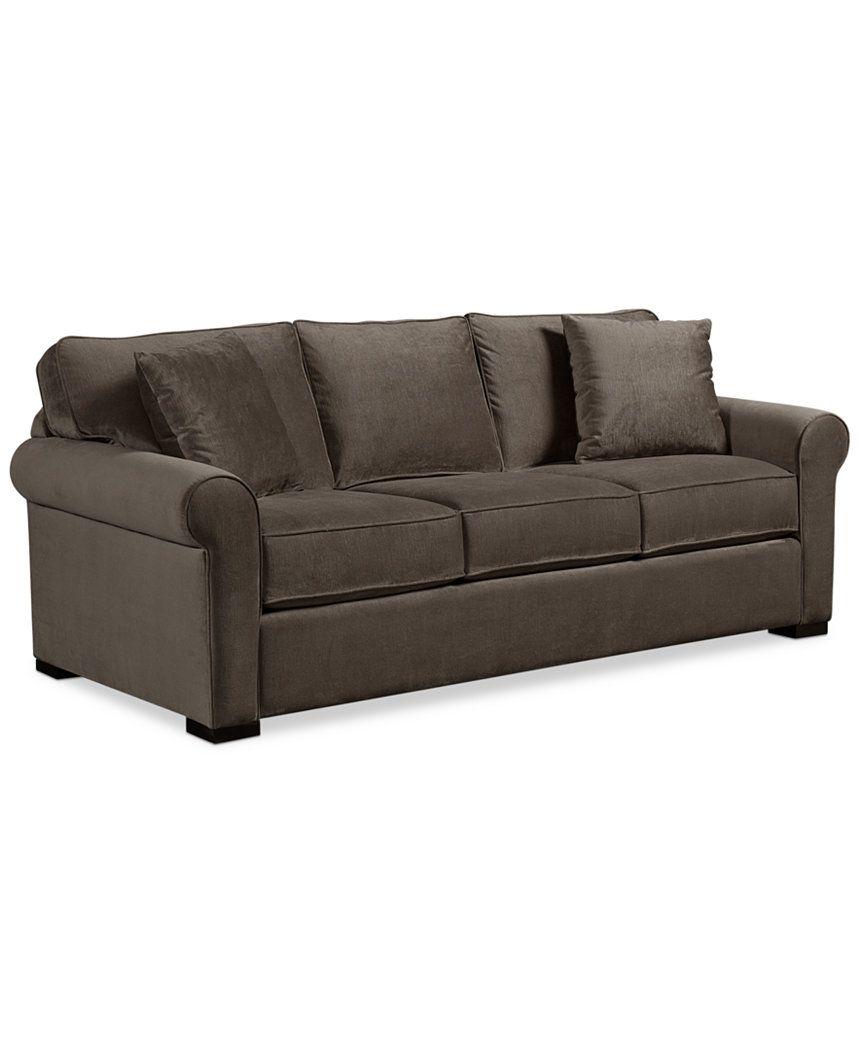 Remo Ii Fabric Sofa Couches Sofas Furniture Macy S