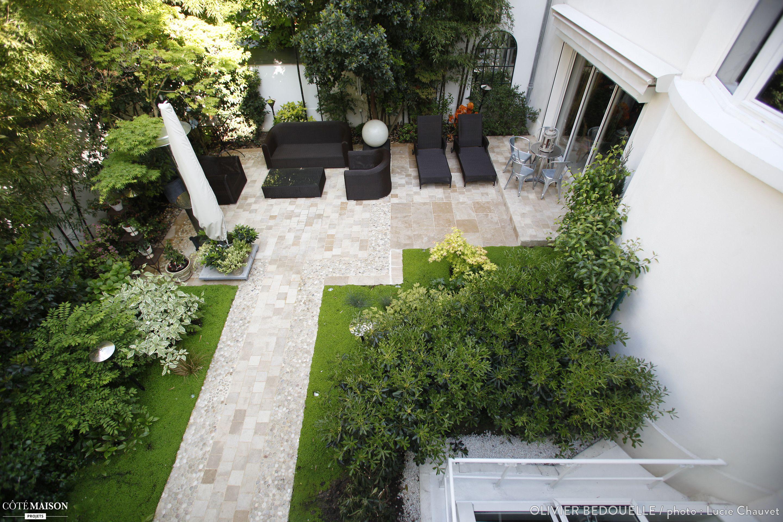Le jardin de 150 m2 était en friche les propriétaires